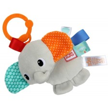 Бебешка висяща играчка Bright Starts Taggies - Слонче -1