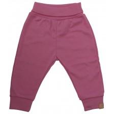 Бебешки панталон Rach - Basic, розов, 62 cm  -1