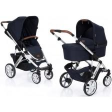 Бебешка количка с твърд кош ABC Design - Salsa 4, синя -1