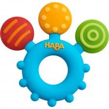 Бебешка силиконова гризалка Haba, Цветна -1