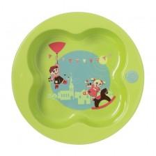 Детска чинийка Bebe Confort - Зелена -1