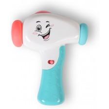 Бебешка играчка Moni - Чукче, K999-119B, синьо -1