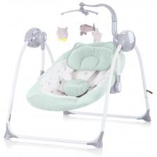 Бебешка люлка Chipolino - Гуш-Гуш, зелена -1
