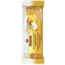 Био плодово барче Holle - Ябълка и банан, 25 g -1