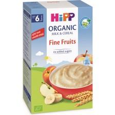 Био инстантна млечна каша Hipp - Меки плодове, 250 g -1