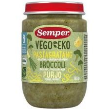 Био ястие Semper Vego & Eko - Паста с броколи и праз, 190 g