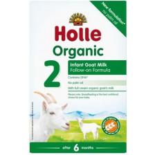 Био козе преходно мляко Holle Organic 2, 400 g -1
