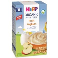 Био инстантна млечна каша Hipp - Плодове и йогурт, 250 g -1