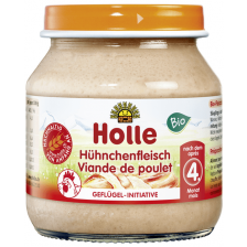 Био месно пюре Holle - Пилешко месо, 125 g -1