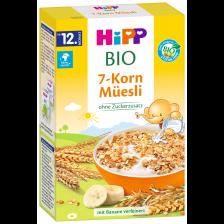 Био мюсли Hipp - 7 зърнени култури, 200 g -1