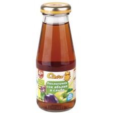 Био сок Слънчо - Ябълка и сливи, 200 ml -1