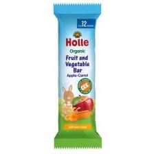 Био барче Holle - Ябълка и морков, 25 g -1