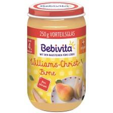 Био пюре от круши Bebivita - 250 g -1