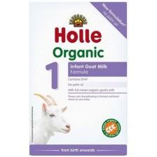 Био козе мляко за кърмачета Holle Organic 1, 400 g -1
