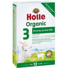 Био козе мляко за подрастващи Holle Organic 3, 400 g -1