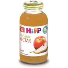 Био нектар Hipp - Праскова и круша, 200 ml -1