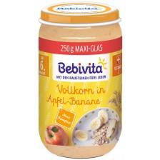 Био каша от ябълка и банан Bebivita - 250 g -1