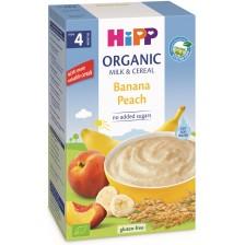 Био млечна инстантна каша Hipp Лека нощ - Банан и праскова, 250 g -1