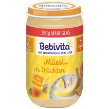 Био каша от плодове и мюсли Bebivita - 250 g -1