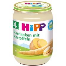 Био зеленчуково пюре Hipp - Пащърнак с картофи, 190 g -1