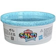 Блестящ пясък Hasbro Play-Doh - Светлосин -1