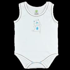 Боди тип потник For Babies - Мече, 6-12 месеца -1