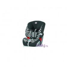 Britax Столче за кола EVOLVA 1-2-3 plus - Smart Zebra -1
