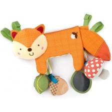 Бебешка висяща играчка 2 в 1 Bright Starts - Лисиче -1
