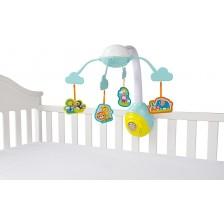 Бебешка музикална въртележка Bright Starts - Safari 2-in-1 -1