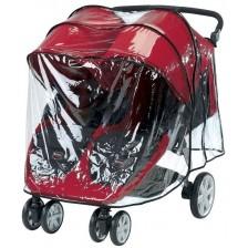 Двоен дъждобран за количка Britax Raincovers B-agile - Прозрачен -1
