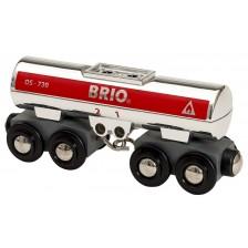 Играчка от дърво Brio World - Цистерна -1