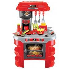 Детска кухня Buba Kitchen Cook - Червена -1