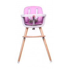 Столче за хранене 2 в 1 Buba Carino - Розово -1