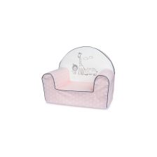 Bubaba Детски фотьойл Розово сафари -1