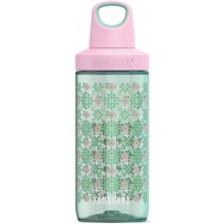 Бутилка за вода Kambukka Reno - Цветна градина, 500 ml -1