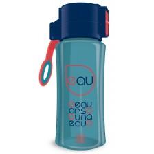 Бутилка за вода Ars Una - Синя, 450 ml -1