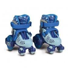 Byox Кънки Little Beetle Blue Boy XS (26-29) -1