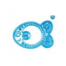 Мека чесалка Canpol - Рибка, синя -1