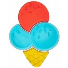Водна чесалка Canpol - Ice Cream, синя -1