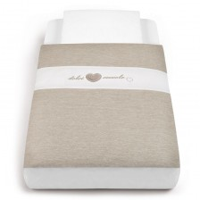 Cam Спален комплект за легло-люлка Cullami col. 154 Мока -1
