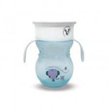 Неразливаща чаша Cangaroo - Magic Cup, 270 ml, синя -1