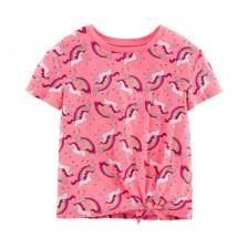 Детска тениска Carter's - Еднорози, размер 4-8 години -1
