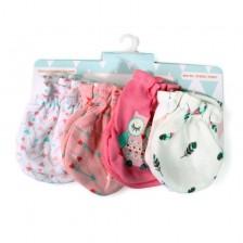 Ръкавици за бебе Cangaroo - Tibbу, розови -1