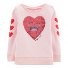 Блуза Carter's - Magic heart, размер 4 години, 104 cm -1