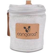 Термочанта за чесалки и биберони Cangaroo - Celio, бежова -1