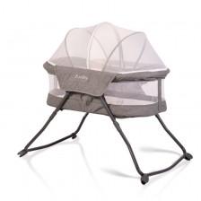 Детско легло Cangaroo - Lolly, с функция люлка -1