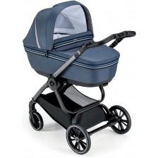 Сет за детска количка Cam - Milano, без шаси, син -1