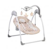 Бебешка люлка Cangaroo - Jessie, бежова -1