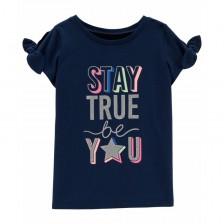 Тениска Carter's - Stay True Be You, 4-5 години -1