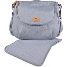 Чанта за количка Cangaroo - Naomi, сива -1